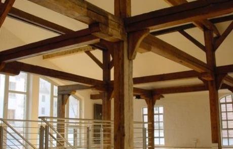 Umbau denkmalgeschützter Wirtschaftsgebäude